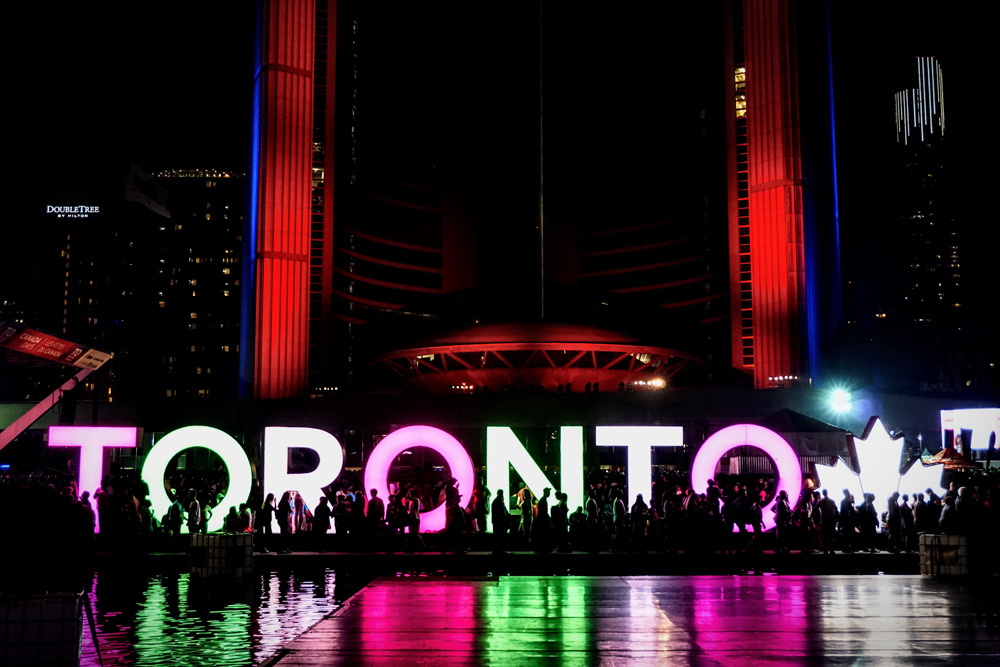 Toronto Date ideas Summer - Canada Day at Nathan Phillips Square